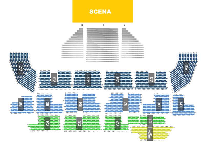 Musical Metro Szczecin Hala Arena Sektory