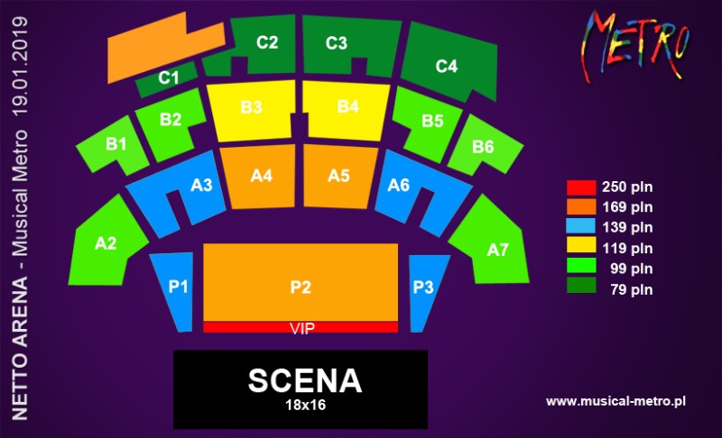 Musical Metro Szczecin 2019 bilety